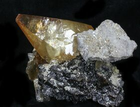 "Buy 3.4"" Gemmy, Twinned Calcite With Sphalerite - Elmwood - #33802"