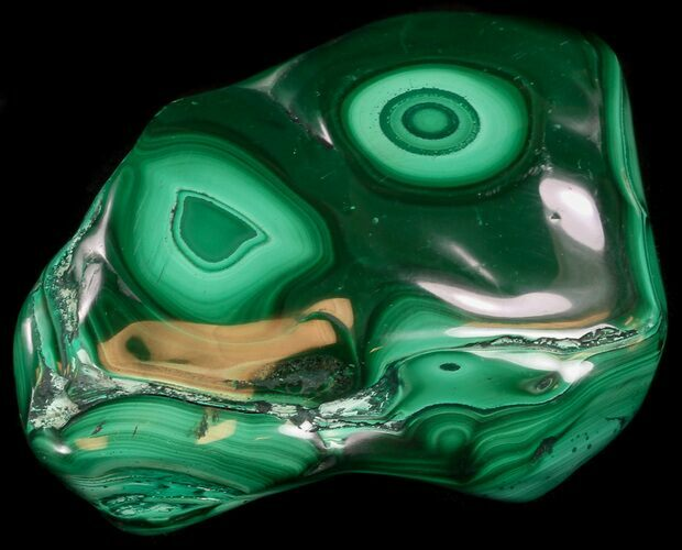 "3.5"" Polished Malachite Specimen - Congo"