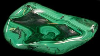 "Buy 3.8"" Polished Malachite Specimen - Congo - #35563"