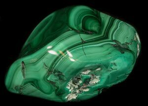 "Buy 3.3"" Polished Malachite Specimen - Congo - #35569"