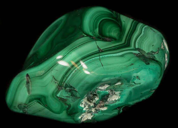 "3.3"" Polished Malachite Specimen - Congo"