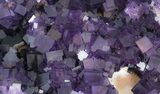 "16"" Purple, Cubic Fluorite Plate - Cave-in-Rock (Reduced Price) - #35710-4"