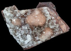 "2.0"" Pink Olmiite On Matrix - South Africa For Sale, #37745"