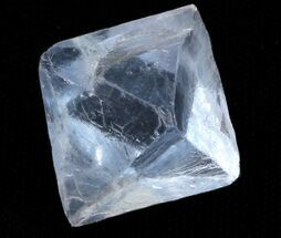 "Buy .82"" Turquoise Blue, Cleaved Fluorite Octahedron - Illinois - #37846"