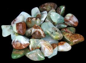 Buy Bulk Polished Chrysoprase - 8oz. (~ 20pc.) - #41827