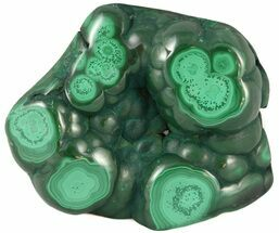 "3.0"" Polished Malachite Specimen - Congo For Sale, #45233"