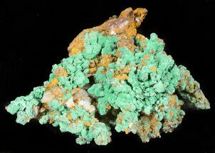 Copper & Malachite - Fossils For Sale - #45453