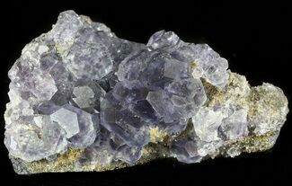 "2.8"" Blue-Purple Fluorite Crystals with Quartz - China For Sale, #46163"