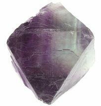 "Buy 1.72"" Fluorite Octahedron - Purple/Green - #48418"