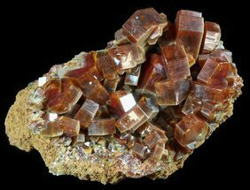 "1.8"" Large, Ruby Red Vanadinite Crystals - Morocco For Sale, #51290"