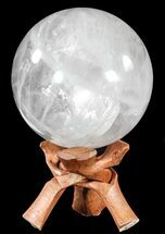 "Buy 6"" Polished Quartz Sphere - Madagascar - #54703"