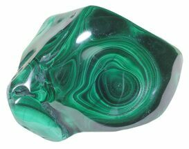 "2.5"" Polished Malachite - Congo For Sale, #58196"