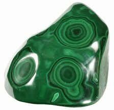 "4.1"" Polished Malachite - Congo For Sale, #58220"
