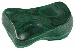 "Buy 3.8"" Polished Malachite - Congo - #58216"