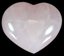 "3.3"" Polished Rose Quartz Heart - Madagascar For Sale, #59099"