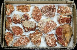 Vanadinite & Barite - Fossils For Sale - #59967