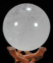 "Buy 4.1"" Polished Quartz Sphere - Madagascar - #59482"