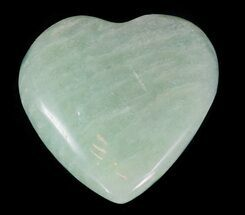 Buy Small Polished Amazonite Hearts - 1 Piece - #60355