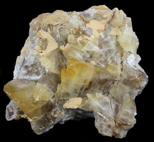 "7.5"" Dogtooth Calcite Crystal Cluster - Morocco"
