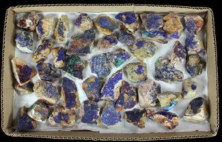 Sparkling, Drusy Azurite & Malachite Wholesale Lot -44 Pieces For Sale, #61577