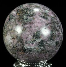 "Buy 1.7"" Polished Cobaltoan Calcite Sphere - Congo - #63892"