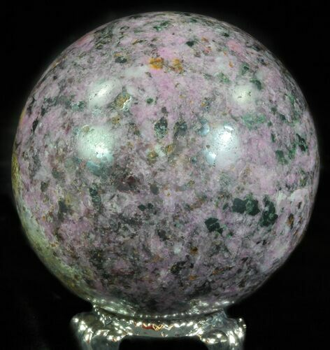 "2"" Polished Cobaltoan Calcite Sphere - Congo"