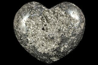 "5.6"" Polished Pyrite ""Heart"" - Peru For Sale, #66500"