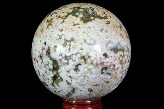 "2.7"" Unique Ocean Jasper Sphere - Madagascar For Sale, #67565"