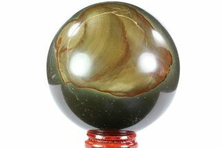 "2.8"" Polished Polychrome Jasper Sphere - Madagascar For Sale, #70787"