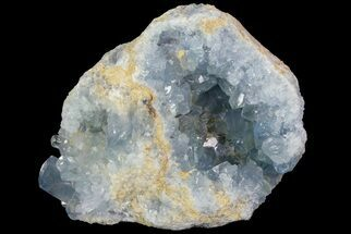 "6.1"" Blue Celestite Crystal Geode - Madagascar For Sale, #70832"