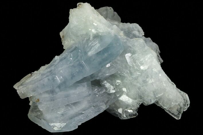 "1.5"" Tabular, Blue Barite Crystal Cluster - Spain"