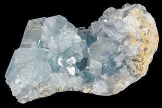 "3.5"" Sky Blue Celestite Crystal Cluster - Madagascar For Sale, #74717"