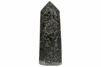 "Buy 7.3"" Polished, Indigo Gabbro Obelisk - Madagascar - #74362"