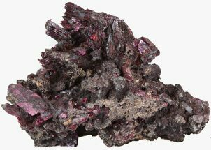 "2"" Deep Purple Erythrite Crystals - Bou Azzer, Morocco For Sale, #43193"