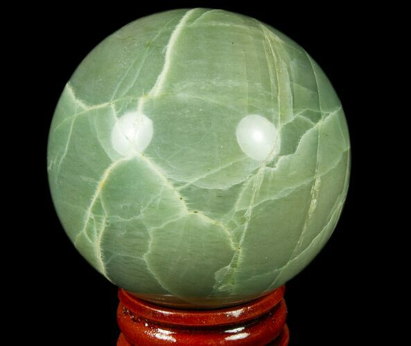 "2.2"" Polished Garnierite Sphere - Madagascar"