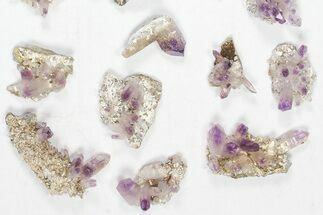 Quartz var. Amethyst - Fossils For Sale - #80631