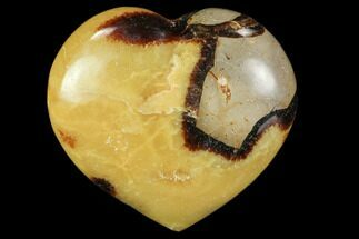 "Buy 3.2"" Polished Septarian ""Heart""  - #82009"