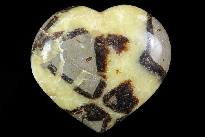 "3.3"" Polished Septarian Heart"