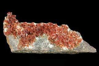 Vanadinite, Barite - Fossils For Sale - #82368