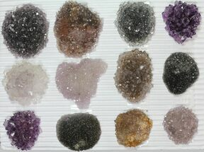 Quartz var. Amethyst - Fossils For Sale - #82602