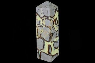 "8.7"" Polished Septarian Obelisk - Madagascar For Sale, #83300"