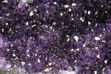 "12.8"" Purple Amethyst Geode - Uruguay - 31 Pounds - #83539-2"