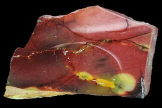 "Buy 3.1"" Polished Mookaite Jasper Slab - Australia - #86590"