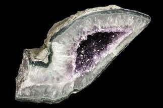 "Buy 7.2"" Purple Amethyst Geode - Uruguay - #87412"