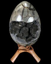 "Buy 9.8"" Septarian ""Dragon Egg"" Geode - Removable Section - #88192"