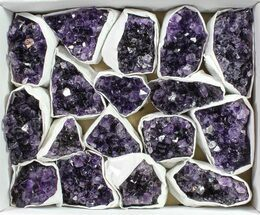 Quartz var. Amethyst - Fossils For Sale - #90114