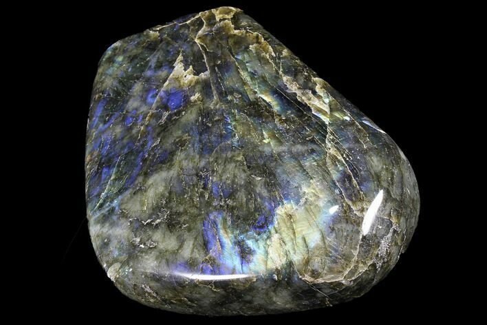 "6.2"" Flashy Polished Labradorite Free Form"