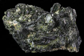 "Buy 3.8"" Epidote Crystal Cluster on Actinolite - Pakistan - #68245"