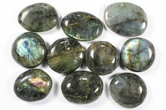 Buy Wholesale Box: Polished Labradorite Pebbles - 1 kg (2.2 lbs) - #90487