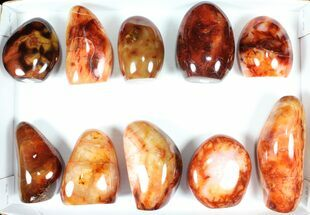Carnelian Agate - Fossils For Sale - #91533
